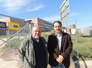 Chema y Javier Mateo hospital Toledo