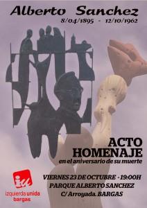 Homenaje Bargas Alberto Sanchez