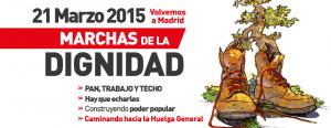 marcha dignidad volvemos a Madrid