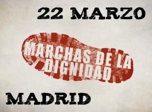 marchas dignidad cartel